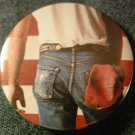 BRUCE SPRINGSTEEN PINBACK BUTTON Born in the USA album art
