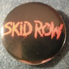 SKID ROW PINBACK BUTTON red classic logo