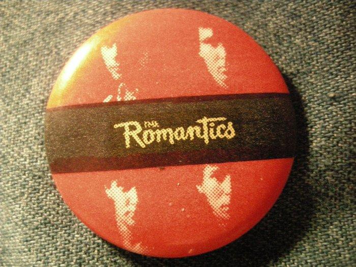 THE ROMANTICS PINBACK BUTTON band faces VINTAGE 80s!