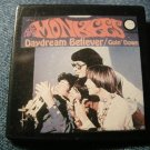 THE MONKEES PINBACK BUTTON Daydream Believer/Goin Down album art square VINTAGE 80s!