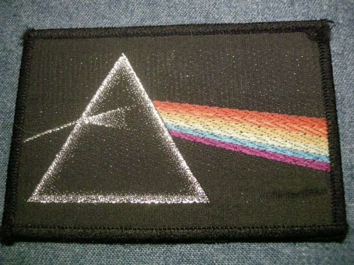 PINK FLOYD sew-on PATCH Dark Side of the Moon VINTAGE