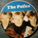 THE POLICE PINBACK BUTTON color band pic sting VINTAGE BIG!
