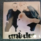 ANT & DEC PINBACK BUTTON square duo pic VINTAGE SALE