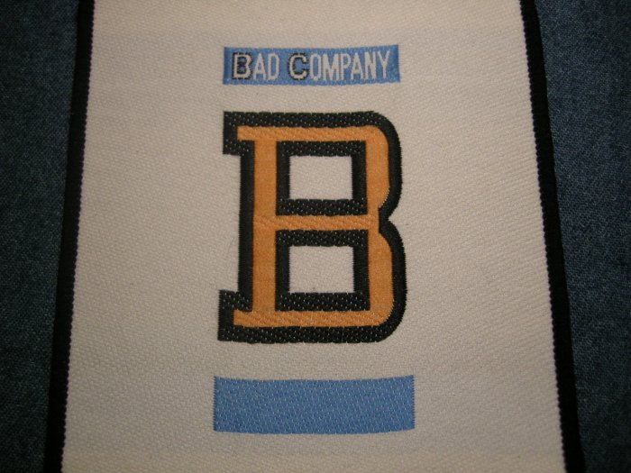 BAD COMPANY sew-on PATCH Fame and Fortune VINTAGE