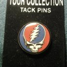 GRATEFUL DEAD TACK PIN Steal Your Face button NEW!