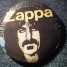 FRANK ZAPPA PINBACK BUTTON yellow logo VINTAGE