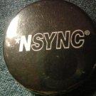 NSYNC PINBACK BUTTON B&W logo SALE