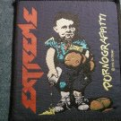 EXTREME sew-on PATCH Pornograffitti nuno IMPORT
