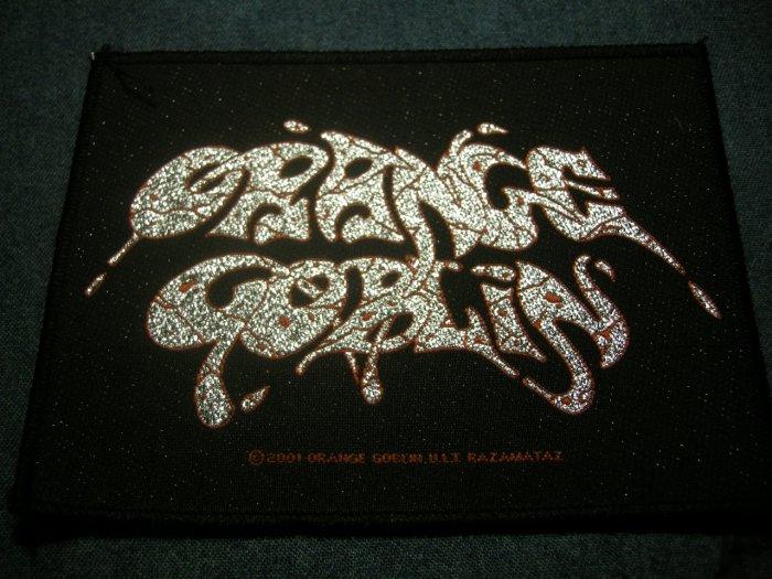 ORANGE GOBLIN sew-on PATCH logo doom IMPORT BIG