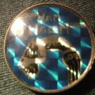VAN HALEN PINBACK BUTTON prism david lee roth VINTAGE