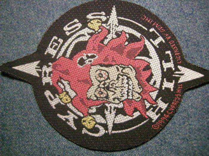 CYPRESS HILL sew-on PATCH clown logo VINTAGE