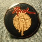 RUSH TACK PIN starman button VINTAGE 80s!