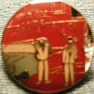 THE STRAY CATS TACK PIN brian setzer button VINTAGE 80s!