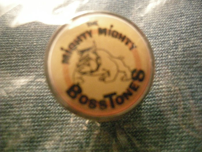 MIGHTY MIGHTY BOSSTONES TACK PIN bulldog ska button VINTAGE 90s!