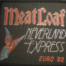 MEAT LOAF sew-on PATCH Neverland Express Europe Tour 82 meatloaf VINTAGE