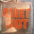 QUIET RIOT KEYCHAIN red logo key chain VINTAGE