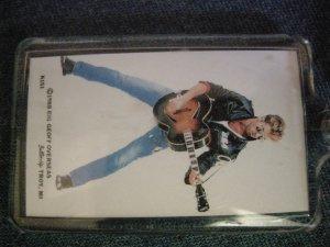 GEORGE MICHAELS KEYCHAIN wham w/guitar key chain VINTAGE