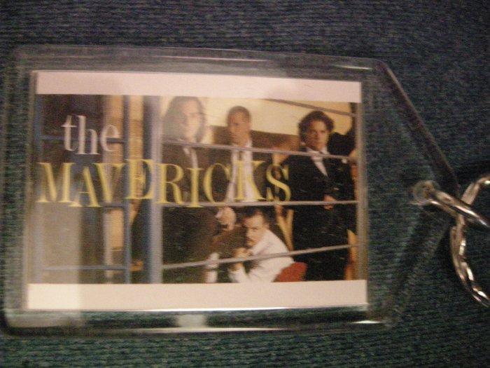 THE MAVERICKS KEYCHAIN band pic country key chain VINTAGE