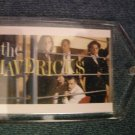 THE MAVERICKS KEYCHAIN band pic country key chain VINTAGE