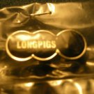 LONGPIGS TACK PIN circles logo button SALE