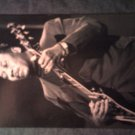 MUDDY WATERS POSTCARD pic w/guitar blues IMPORT SALE