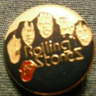 THE ROLLING STONES TACK PIN group pic button VINTAGE 80s