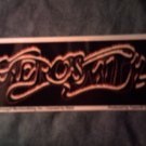 AEROSMITH STICKER gold logo SALE