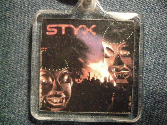 STYX KEYCHAIN Kilroy Was Here mr roboto key chain VINTAGE