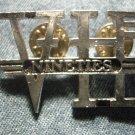 VAN HALEN METAL PIN 90s logo sammy hagar badge VINTAGE