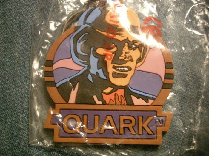 STAR TREK KEYCHAIN Quark deep space nine DS9 key chain NEW!