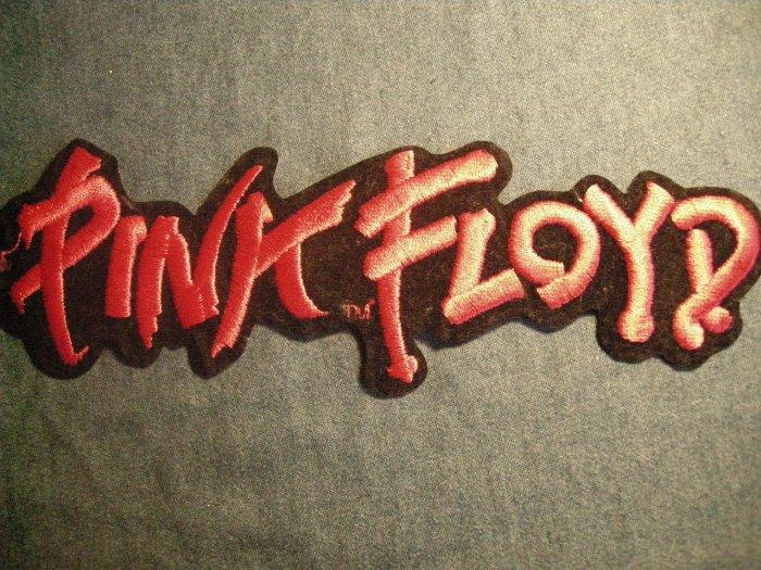 PINK FLOYD iron-on PATCH classic logo VINTAGE JUMBO!