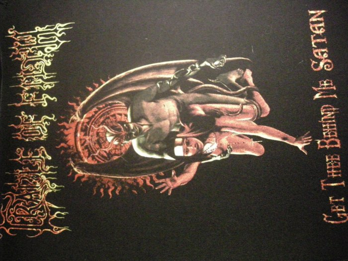 CRADLE OF FILTH BACKPATCH Get Thee Behind Me Satan nun IMPORT