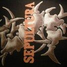 SEPULTURA BACKPATCH bone logo patch VINTAGE