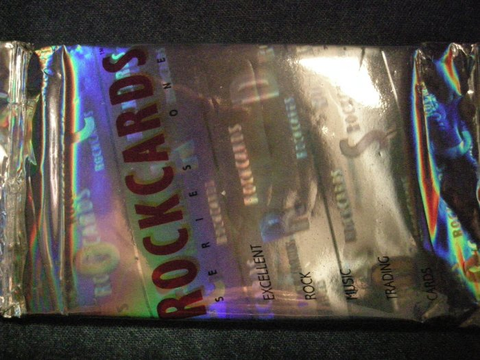 ROCKCARDS TRADING CARDS 1991 heavy metal grateful dead SEALED PACK!