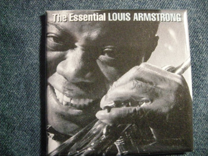 LOUIS ARMSTRONG MAGNET The Essential jazz VINTAGE