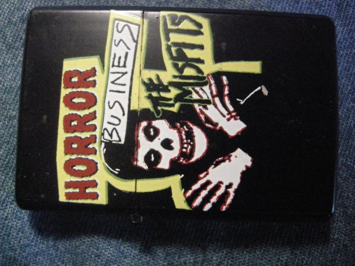 THE MISFITS LIGHTER Horror Business ghoul danzig NEW!