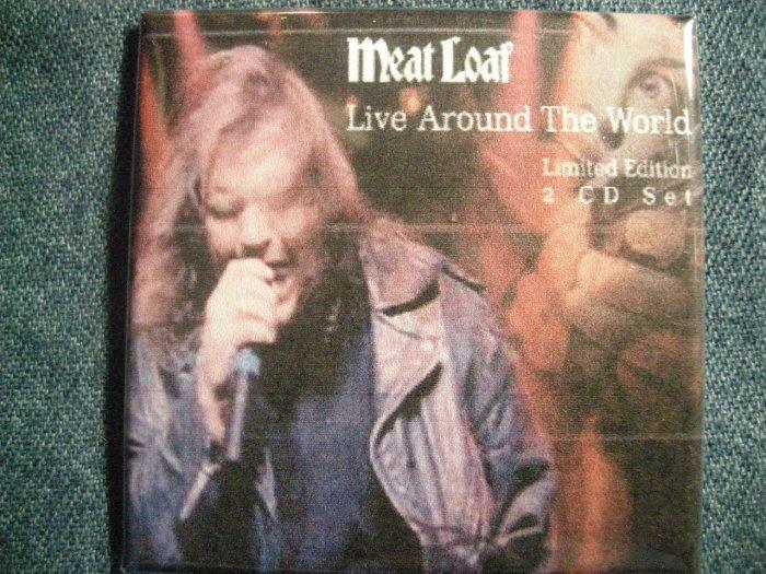 MEAT LOAF MAGNET Live Around the World meatloaf VINTAGE