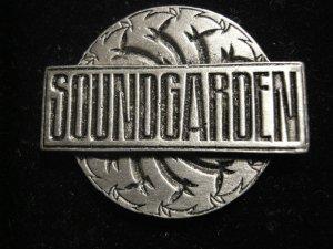 SOUNDGARDEN METAL PIN Badmotorfinger logo badge VINTAGE