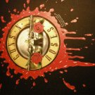 GUNS N ROSES BACKPATCH bloody bullet logo patch VINTAGE