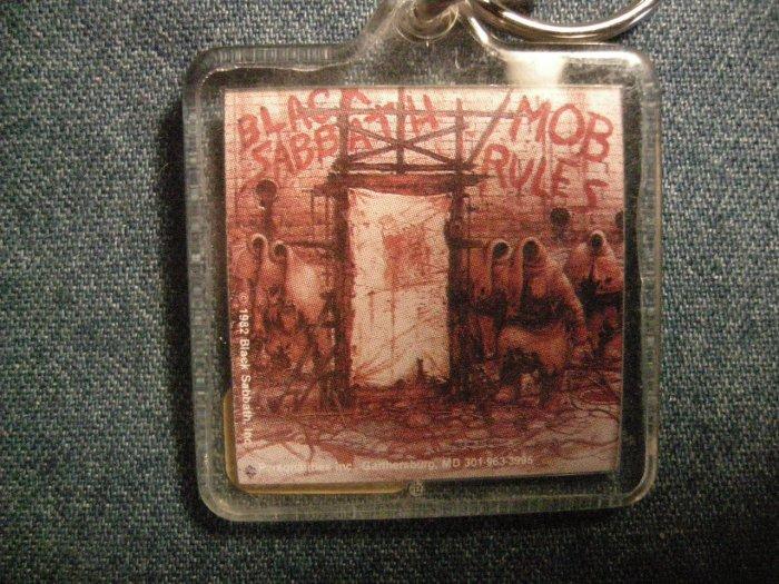 BLACK SABBATH KEYCHAIN Mob Rules ronnie james dio key chain VINTAGE