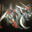 GREAT WHITE BACKPATCH shark band patch VINTAGE