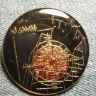 DEF LEPPARD TACK PIN Pyromania round button VINTAGE