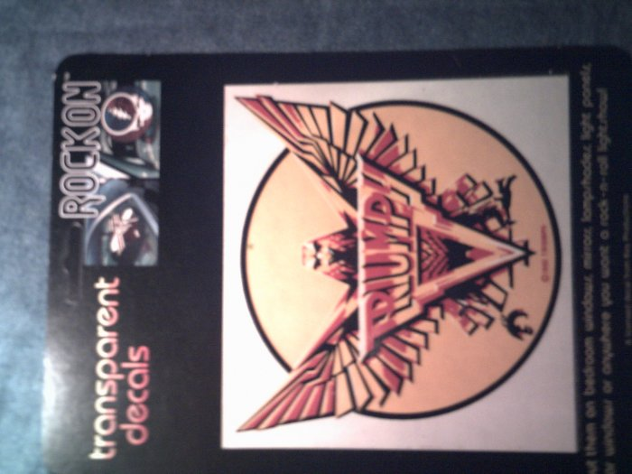 TRIUMPH STICKER eagle lightning logo decal VINTAGE
