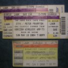 TICKET STUB LOT Styx REO Speedwagon Peter Frampton SALE