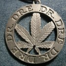 DR DRE METAL NECKLACE pot leaf rap IMPORT