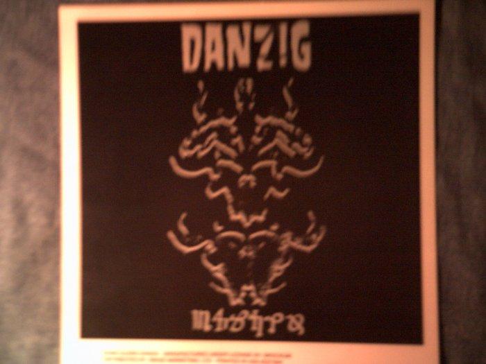 DANZIG DECAL not STICKER danzig 4 album art glenn misfits VINTAGE