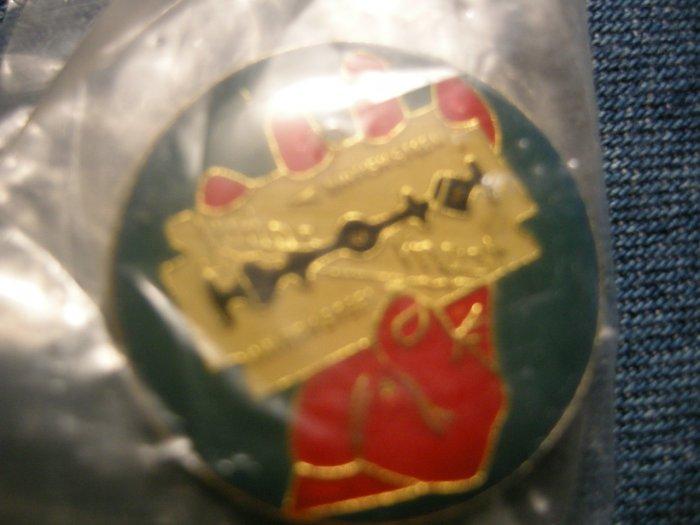 JUDAS PRIEST TACK PIN British Steel button VINTAGE