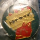 JUDAS PRIEST TACK PIN British Steel button VINTAGE