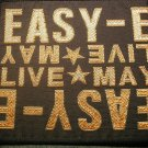 EASY E sew-on PATCH May Live rap VINTAGE