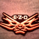 E.Z.O. iron-on PATCH ezo logo japan VINTAGE 80s